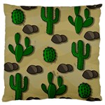 Cactuses Standard Flano Cushion Case (One Side)