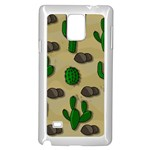 Cactuses Samsung Galaxy Note 4 Case (White)