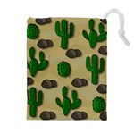 Cactuses Drawstring Pouches (Extra Large)