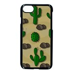 Cactuses Apple iPhone 7 Seamless Case (Black)