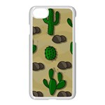 Cactuses Apple iPhone 7 Seamless Case (White)
