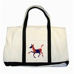 Funny Donkey Two Tone Tote Bag