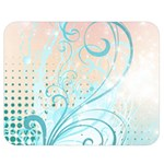 Pink Blue Pattern Double Sided Flano Blanket (Medium) from ArtsNow.com 60 x50  Blanket Back