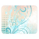 Pink Blue Pattern Double Sided Flano Blanket (Large) from ArtsNow.com  Blanket Back