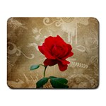 Red Rose Art Small Mousepad