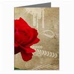 Red Rose Art Greeting Cards (Pkg of 8)