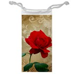 Red Rose Art Jewelry Bag