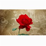 Red Rose Art Canvas 40  x 72