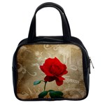 Red Rose Art Classic Handbag (Two Sides)