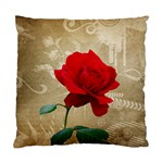 Red Rose Art Standard Cushion Case (Two Sides)