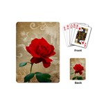 Red Rose Art Playing Cards (Mini)