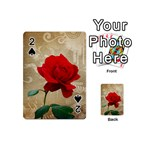 Red Rose Art Playing Cards 54 (Mini)