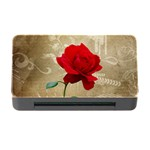 Red Rose Art Memory Card Reader with CF