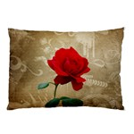 Red Rose Art Pillow Case (Two Sides)