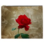 Red Rose Art Cosmetic Bag (XXXL)