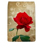 Red Rose Art Removable Flap Cover (L)