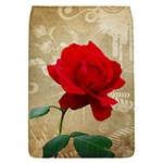 Red Rose Art Removable Flap Cover (S)