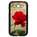 Red Rose Art Samsung Galaxy Grand DUOS I9082 Case (Black)