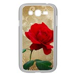 Red Rose Art Samsung Galaxy Grand DUOS I9082 Case (White)