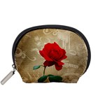 Red Rose Art Accessory Pouch (Small)