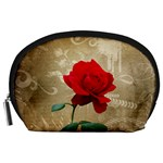 Red Rose Art Accessory Pouch (Large)