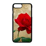 Red Rose Art iPhone 7 Plus Seamless Case (Black)
