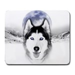 Wolf Moon Mountains Large Mousepad