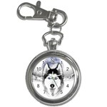 Wolf Moon Mountains Key Chain Watch