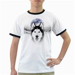 Wolf Moon Mountains Ringer T