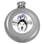 Wolf Moon Mountains Hip Flask (5 oz)