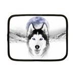 Wolf Moon Mountains Netbook Case (Small)