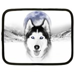 Wolf Moon Mountains Netbook Case (XL)