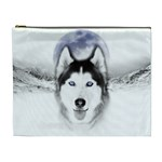 Wolf Moon Mountains Cosmetic Bag (XL)