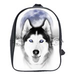Wolf Moon Mountains School Bag (Large)