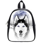 Wolf Moon Mountains School Bag (Small)