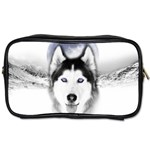 Wolf Moon Mountains Toiletries Bag (Two Sides)