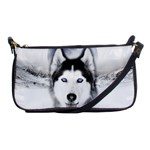 Wolf Moon Mountains Shoulder Clutch Bag