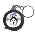 Wolf Moon Mountains Measuring Tape