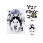 Wolf Moon Mountains Playing Cards 54 (Mini)