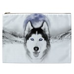 Wolf Moon Mountains Cosmetic Bag (XXL)