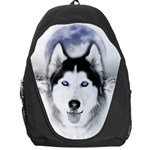Wolf Moon Mountains Backpack Bag