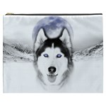 Wolf Moon Mountains Cosmetic Bag (XXXL)