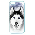 Wolf Moon Mountains Apple Seamless iPhone 5 Case (Color)