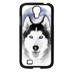 Wolf Moon Mountains Samsung Galaxy S4 I9500/ I9505 Case (Black)
