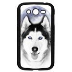 Wolf Moon Mountains Samsung Galaxy Grand DUOS I9082 Case (Black)