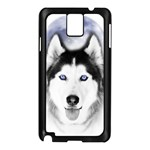 Wolf Moon Mountains Samsung Galaxy Note 3 N9005 Case (Black)