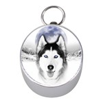Wolf Moon Mountains Silver Compass (Mini)