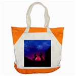 Unicorn Sunset Accent Tote Bag