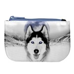 Wolf Moon Mountains Large Coin Purse