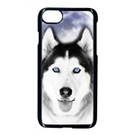 Wolf Moon Mountains iPhone 7 Seamless Case (Black)